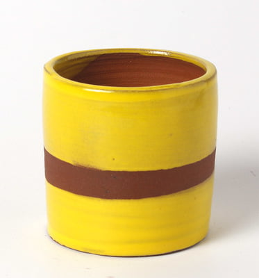 Sara Low Fire Opaque Yellow