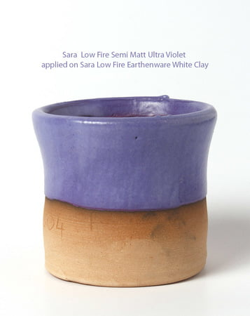 Sara Low Fire Semi Matt Ultra Violet