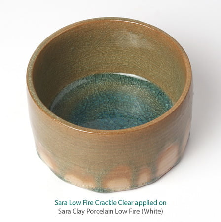 Sara Low Fire Crackle Clear