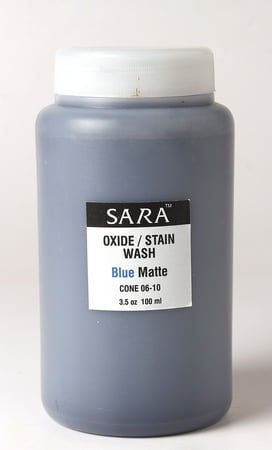 Sara Oxide and Stain Blue Matte